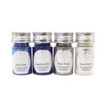 Nuvo pure sheen glitter 297n let it snow 4 x 25 ml