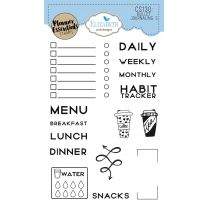 ECD Clear stamps - Bullet journaling 3