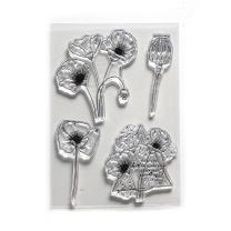 ECD Clear stamps - Poppy dream