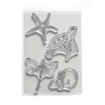 ECD Clear stamps - Water creatures