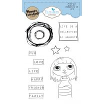 ECD Clear stamps - Moments of life
