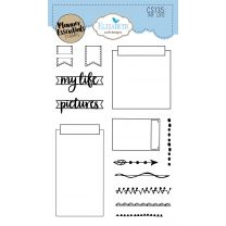 ECD Clear stamps - My life