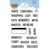 ECD Clear stamps - Winter words