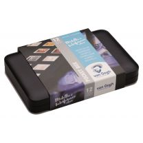 Van Gogh aquarelverf pocketbox 12 napjes - Specialty colours