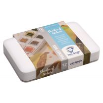 Van Gogh aquarelverf pocketbox 12 napjes - Shades of nature
