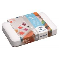 Van Gogh aquarelverf pocketbox 12 napjes - Vibrant colours