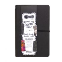 Dylusions creative journal black - small