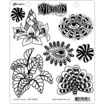 Dylusions cling mount stamp set - Foliage fillers