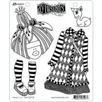 Dylusions cling mount stamp set - Maisie Lilly