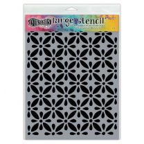 Dylusions stencil large - quilts