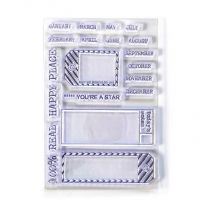 ECD Clear stamps - Sidekick stamps 1