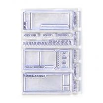 ECD Clear stamps - Sidekick stamps 2
