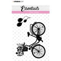 Clear stamps A7 silhouette Bicyle nr. 29