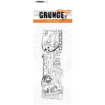 Clear stamp Love mail - Grunge collection 6.0 nr. 36
