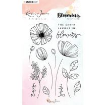 Clear stamp A6 - Karin Joan Blooming collection nr.02