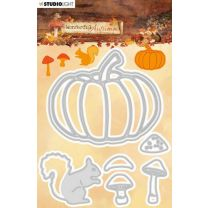 Cutting and embossing die - Wonderful autumn nr. 309