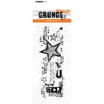 Clear stamp Grunge collection 3.0 nr. 411