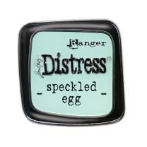 Distress pin speckled egg