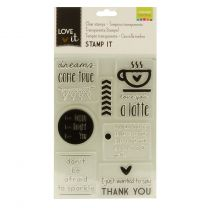 Love It clear stamps A5 dreams