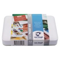 Van Gogh Aquarelverf Pocket Box 12 + 3