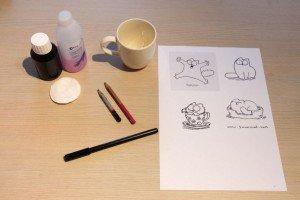porseleinstiften-benodigdheden