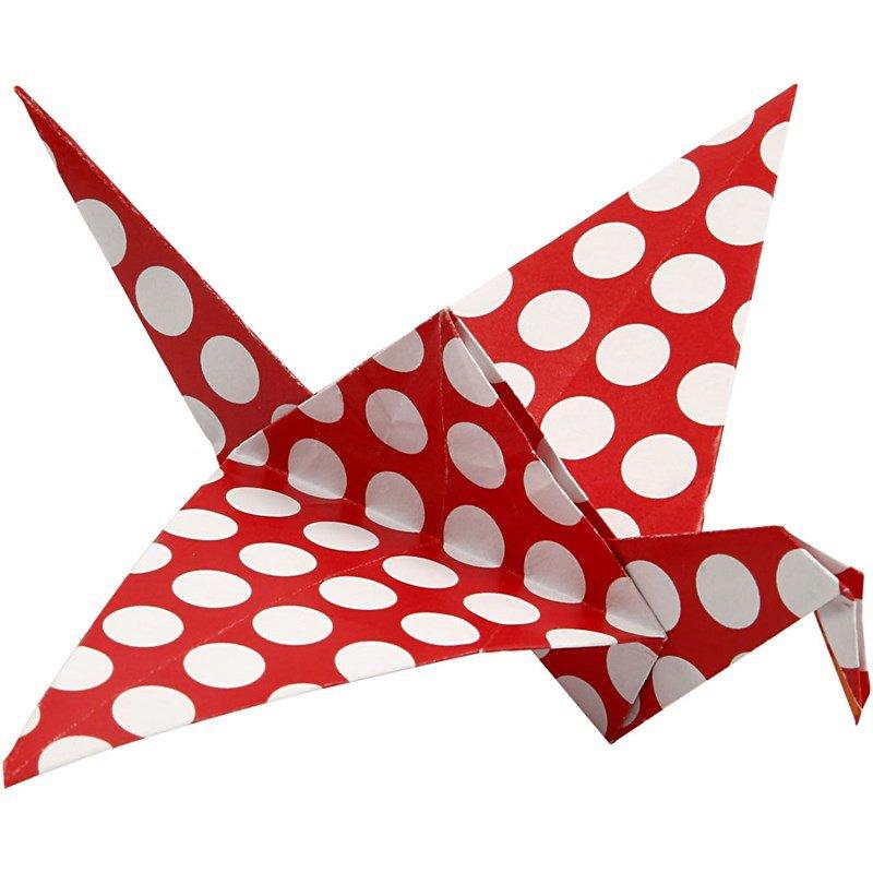 Origami, de kunst van het vouwen