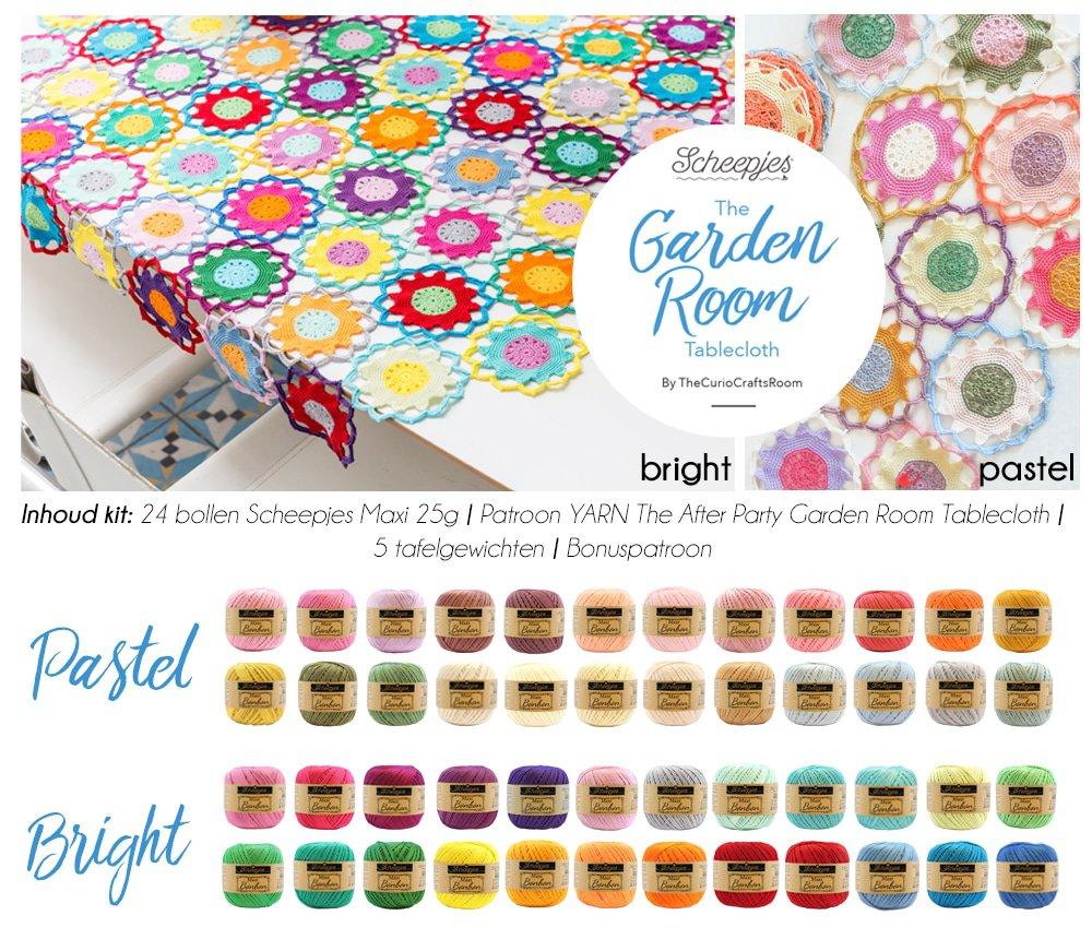 Scheepjes Summer kit: Garden Room Tablecloth