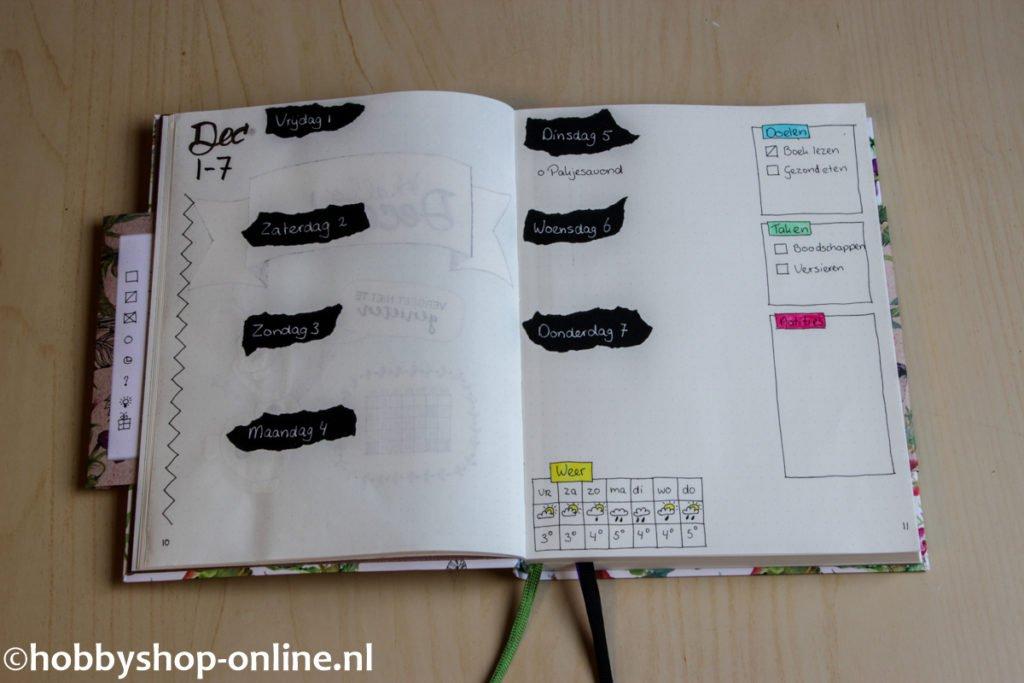 bullet-journaling-6-weekly-spread
