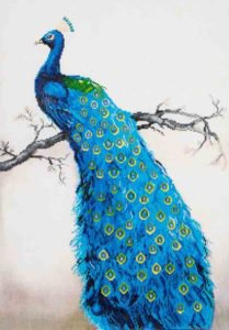 diamond-dotz-dd13.012-blue-peacock