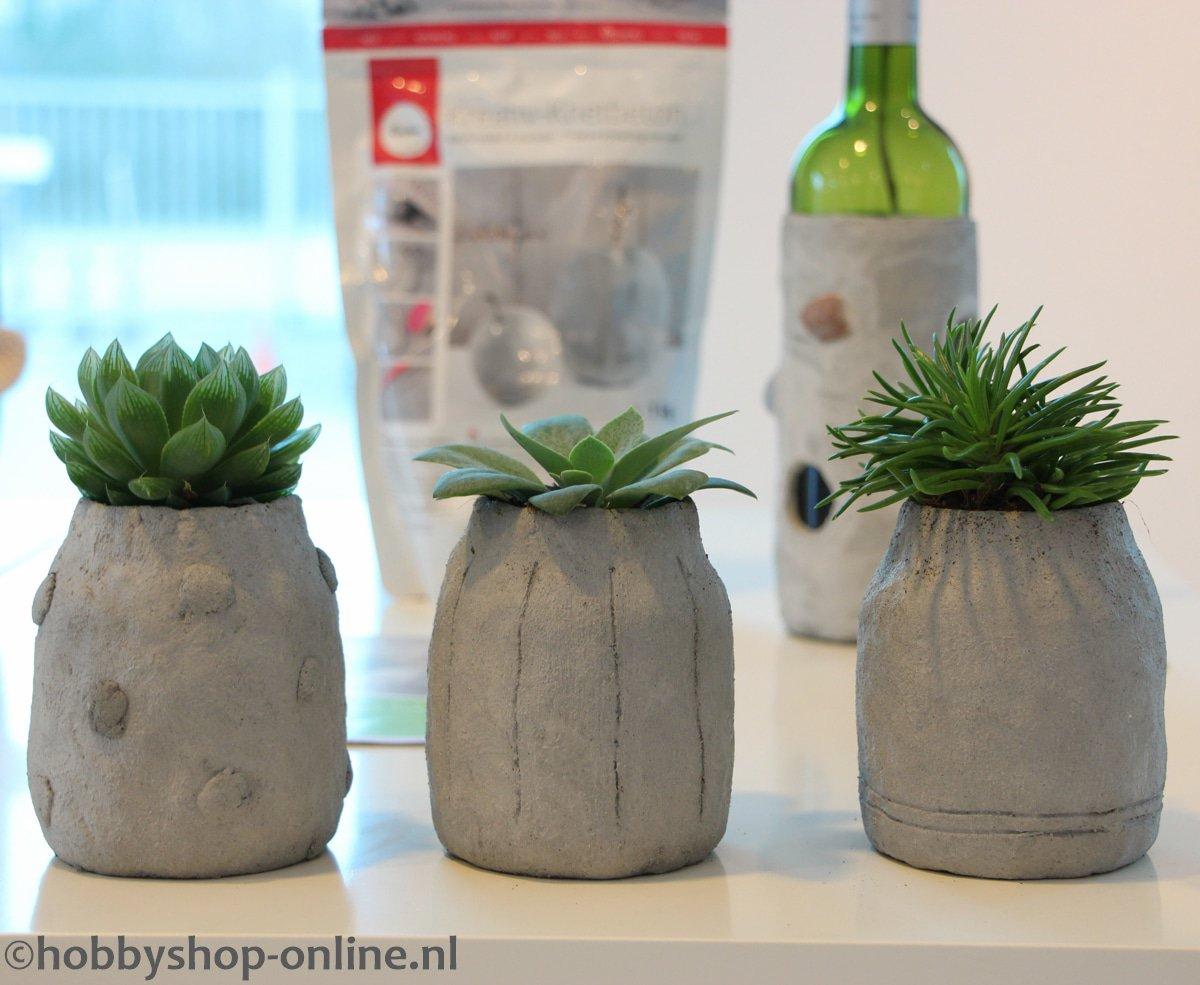 Met betonklei maak je de leukste decoraties