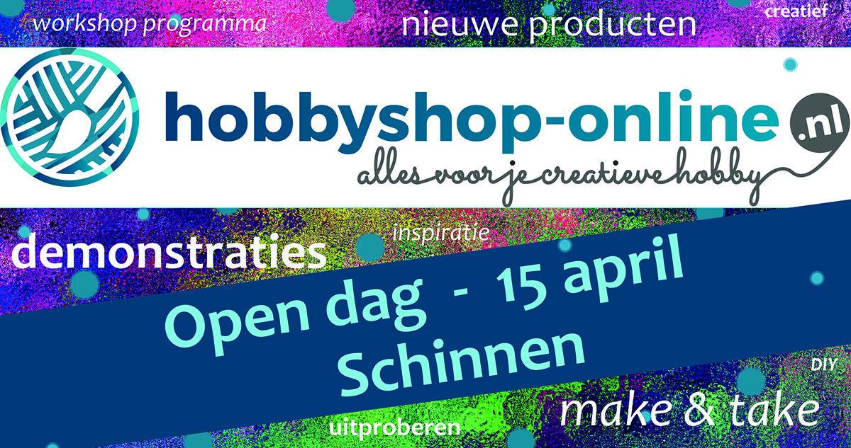 Open dag hobbyshop-online.nl 15 april 2018