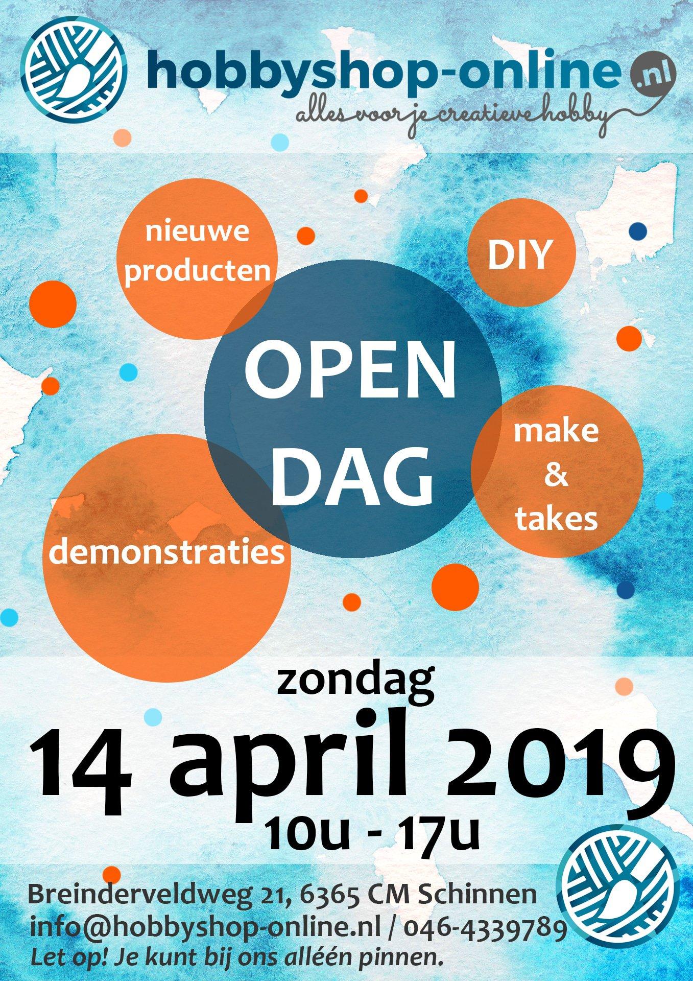 Open dag 14 april 2019