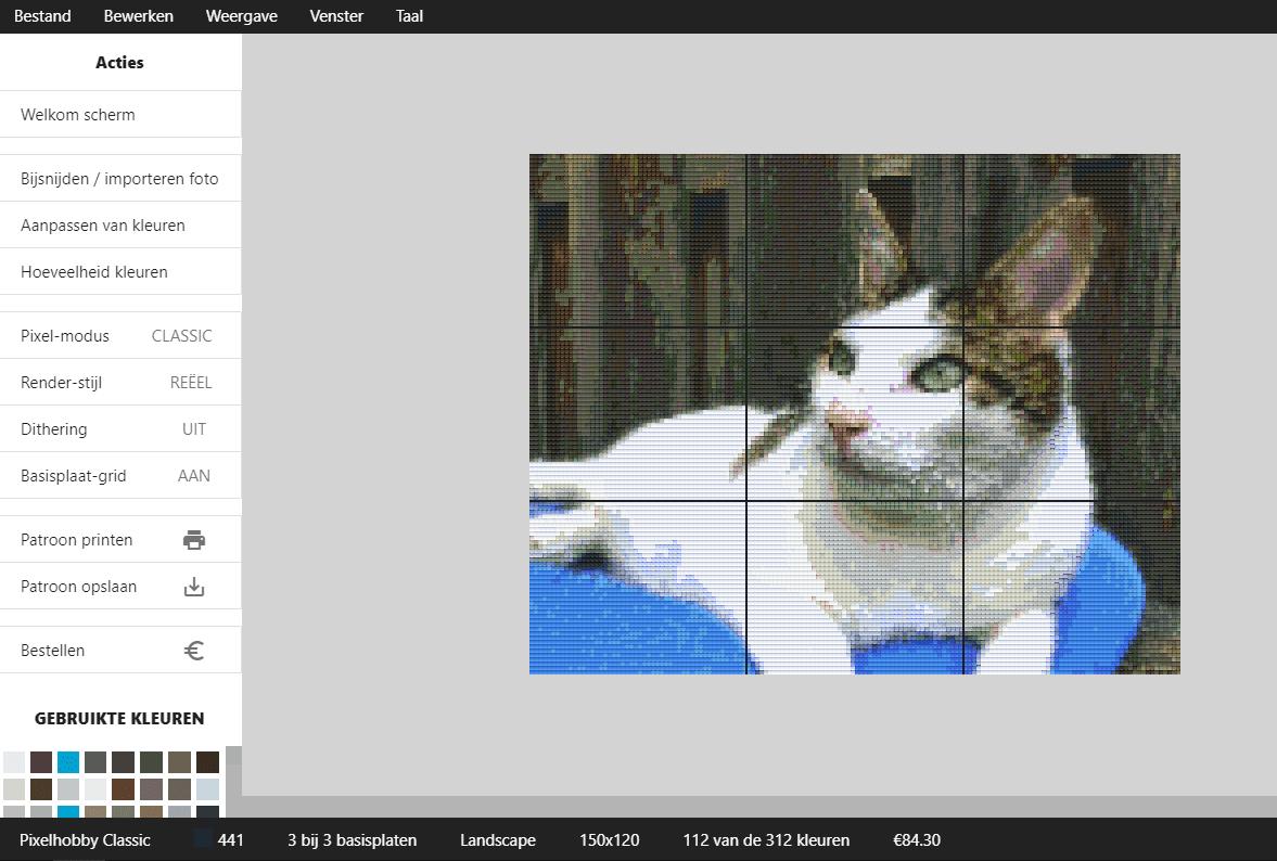 Pixelhobby met je eigen foto